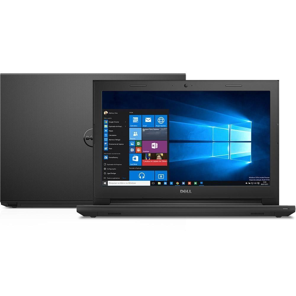 Notebook Dell Inspiron 3442 Core I3-4005U 1.7Ghz| 1Tb| 4Gb| Dvd| Wifi| Cam| Tela 14| Win 10Home