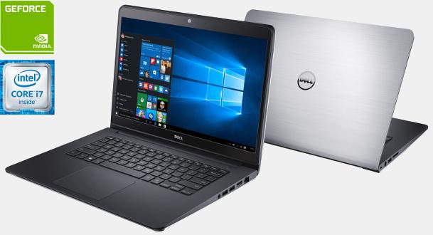 Notebook Dell Inspiron 5457 Core I7 6500U 2.5Ghz/1Tb+8Gb/8Gb/14/4Gb Nvidia/W10Home