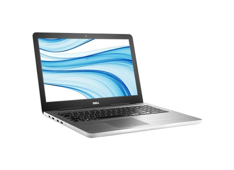 Notebook Dell Inspiron 5567 Core I5-7200Uu 2.5Ghz | 1Tb | 8Gb | Dvd | Wifi | Cam | 15 |Linux |Branco