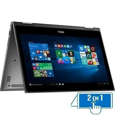 Notebook Dell Inspiron 5578 2 In 1 I7-7500U 3.5Ghz| 1Tb| 8Gb| Tela 15,6 Touch| Windows 10 Home