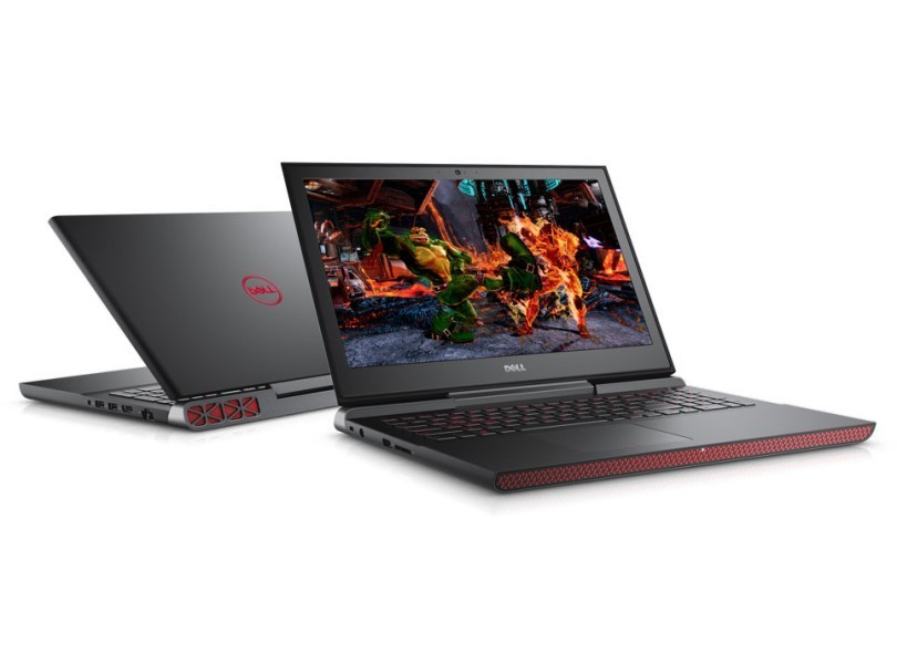Notebook Dell Inspiron 7567 I7 7700Hq 2.8 |16Gb Ram |1Tb+Ssd256Gb |Gtx1050 4Gb |15 |Windows 10 Pro