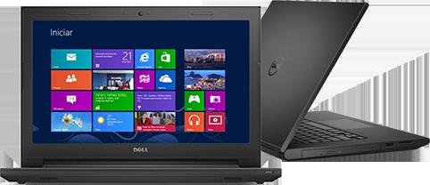 Notebook Dell Inspiron Core I5-5200U 2.2Ghz | 500Gb | 8Gb | Cam | 15.6 | Touch | W8Sl