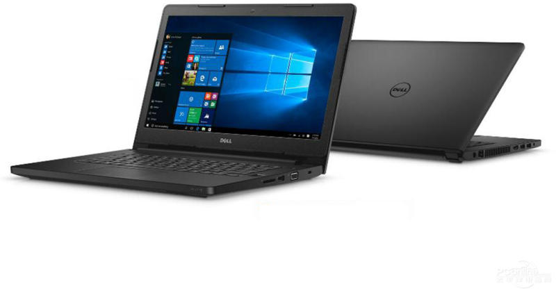 Notebook Dell Latitude E3470  I3 6100U | 500Gb | 4Gb | Cam | 14 | W10 Pro Preto