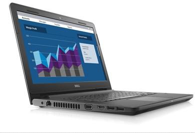 Notebook Dell Vostro 3468 Core I5-7200U 3.1Ghz|500Gb|4Gb|14|Win10Pro Preto