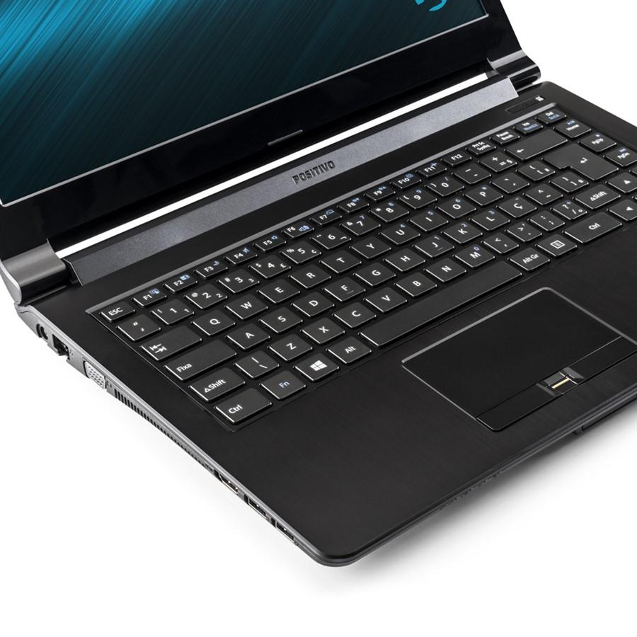 Notebook Positivo Premium Xsi9160 I7-4610M| 4Gb| 1Tb| Dvdrw| 14| Linux| Preto