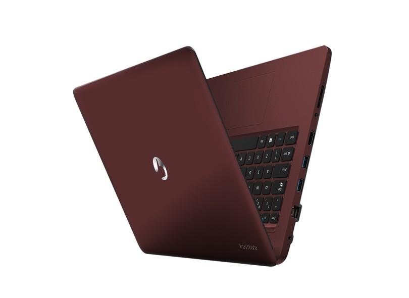 Nb Positivo Stilo Xc3634 Intel N3010 2,4Ghz 4Gb 32Gb 14 W10Home Vermelho