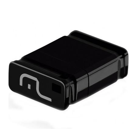 PEN DRIVE 16GB NANO PRETO USB 2.0 PD054 MULTILASER