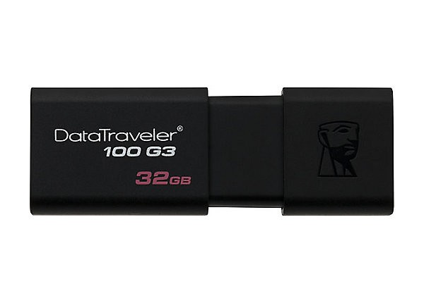 Pen Drive Kingston Data Traveler 100 32Gb Usb3.0 - Dt100G3|32Gb