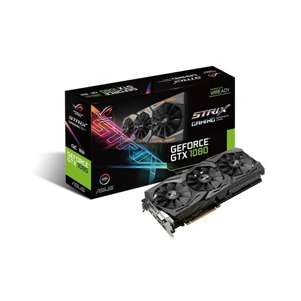 Placa De Vídeo Gtx1080 8Gb Strix Gaming Asus Ddr6