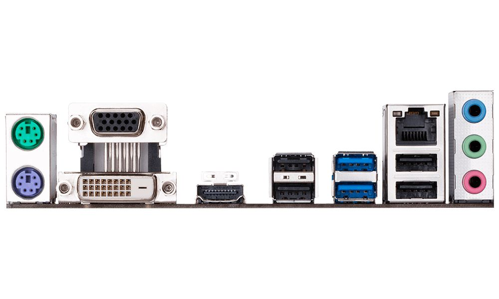 Placa Mae Intel Gah110M-M.2 Ddr4 Lga1151 Gigabyte