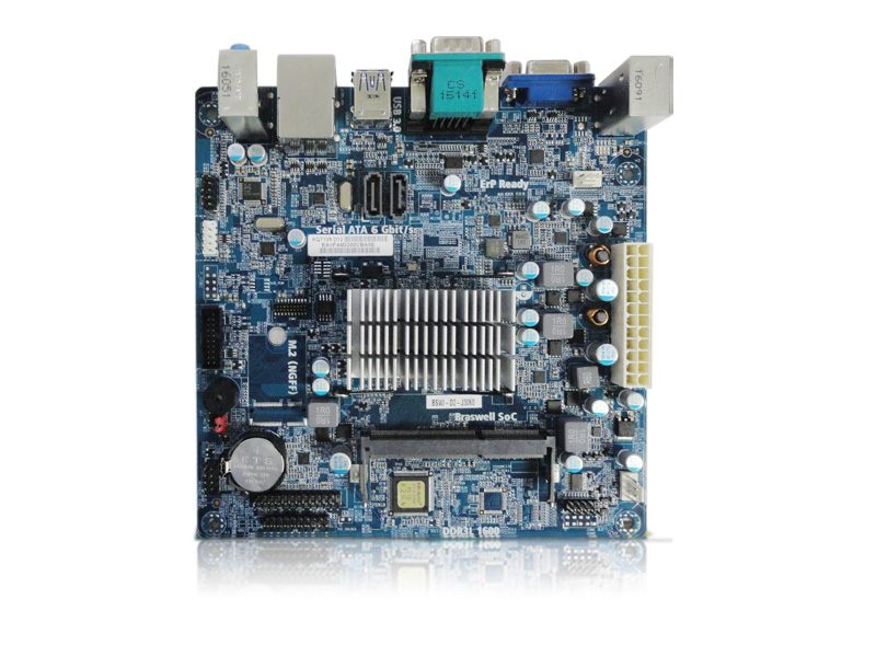 Placa Mae M-Itx Ppb Oem Com Processador Intel C2016-Bswi-D2-J3060 Dc 1.6Ghz
