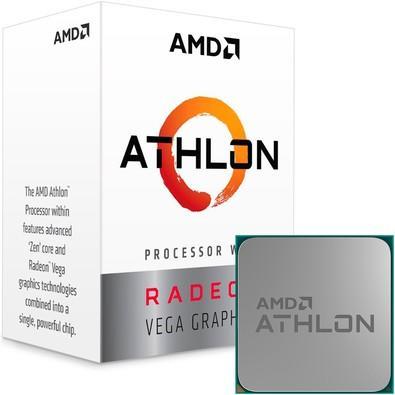 Processador Amd Am4 Athlon 200Ge 3,2Ghz