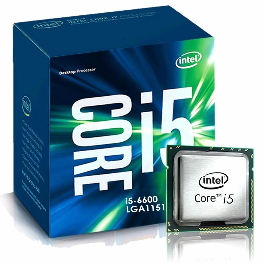 Processador Intel 1151 Pinos Core I5 6600K 3.9Ghz Skylake