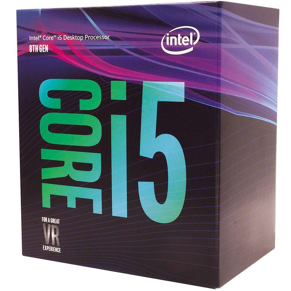 Processador Intel 1151 Pinos Core I5 8400 2.8 Ghz 9Mb