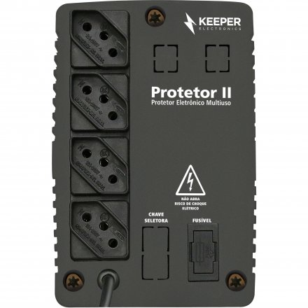 Protetor Eletronico Keeper 500Va Bivolt