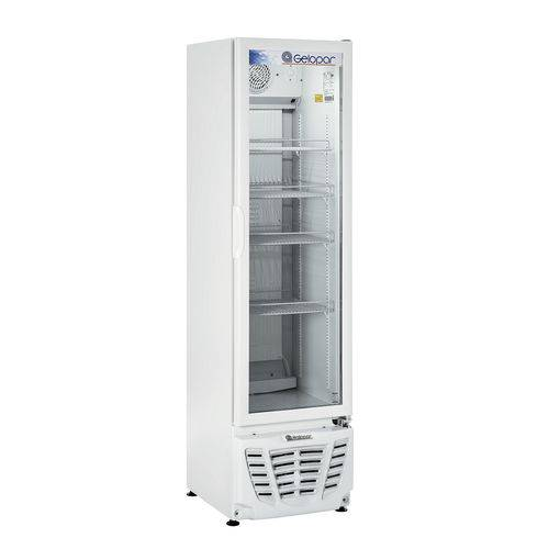 Refrigerador Vertical Conveniencia Gelopar 230L Gptu-230| Br 127V