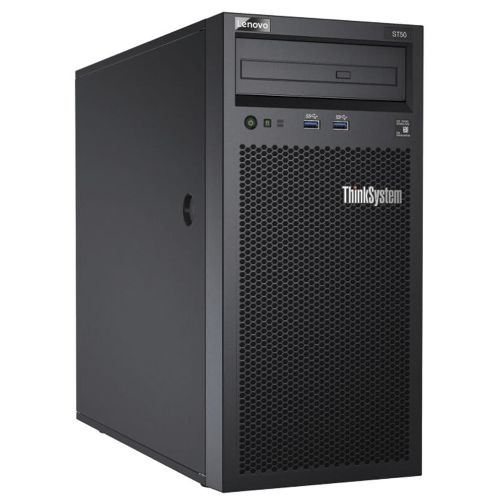 Servidor Lenovo St50 Xeon 4C E-2104G 65W 3.2Ghz| 1X8Gb| 1Tb| R 0-1-10-5 7Y48A00Lbr