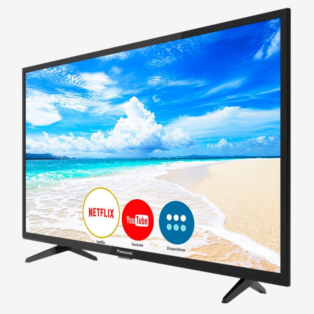 Smart Tv Led 32 Panasonic 32Fs500B Hdmi  Usb  Rede