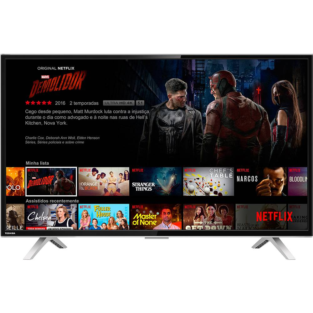 Smart Tv Led 40 Semp Toshiba 40L2600 Full Hd| Hdmi| Usb 60Hz