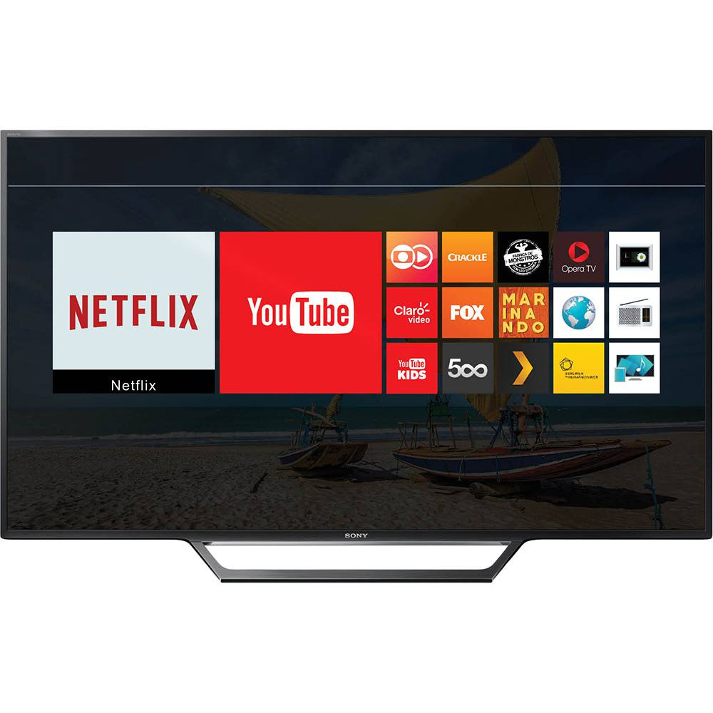 Smart Tv Led 40 Sony Full Hd Kdl-40W655D 2X Hdmi 2X Usb