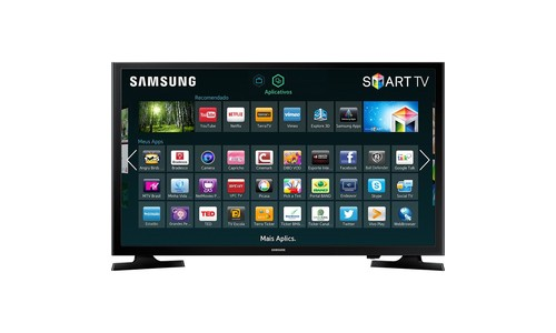 Tv Led 43 Smart Samsung Un43J5200 Full Hd 2 Hdmi