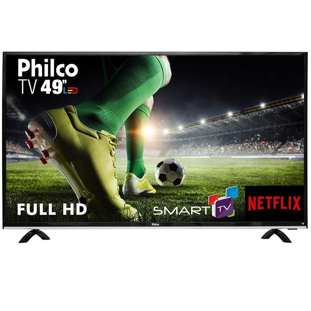 Smart Tv Led 49 Philco Ptv49E68Dswn Full Hd 3Xhdmi| 1Xusb| Wi-Fi