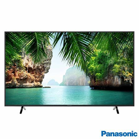 Smart Tv Led 50 Panasonic 4K 50Gx500B Hdmi| Usb| Rede