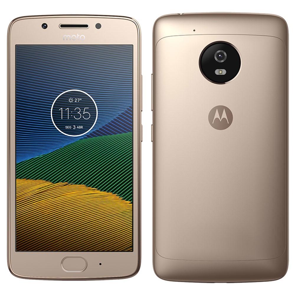 Celular Moto G5 Xt1672 Oc|2Gbram|32Gb|5|4G|Ouro