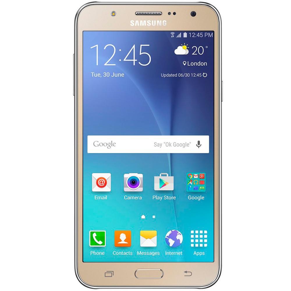 Smartphone Samsung Galaxy J7 Sm-J700M/Ds 16Gb 4G Dourado