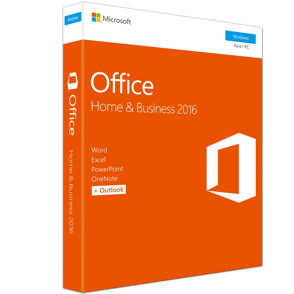 Soft Office 2016 Home And Business Licenca Fpp