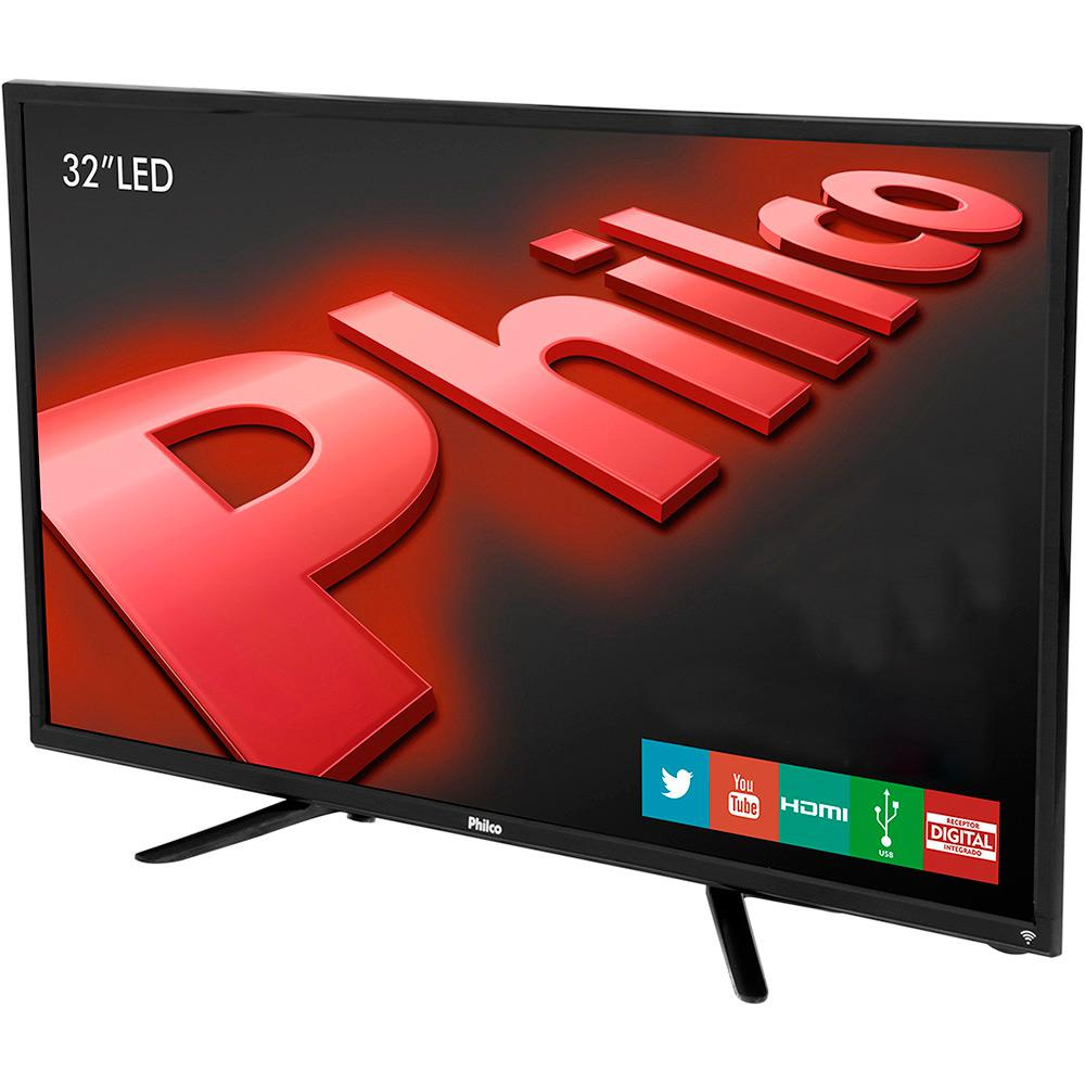 Smart Tv Led 32 Philco Ph32E31Dsgw Hd|2 Hdmi|2 Usb