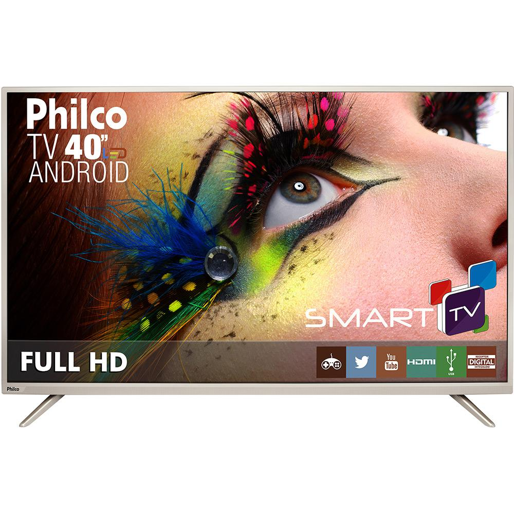 Smart Tv Led 40 Android Philco Ph40F10Dsgwac / Full Hd / Wifi / Hdmi / Usb / Conversor