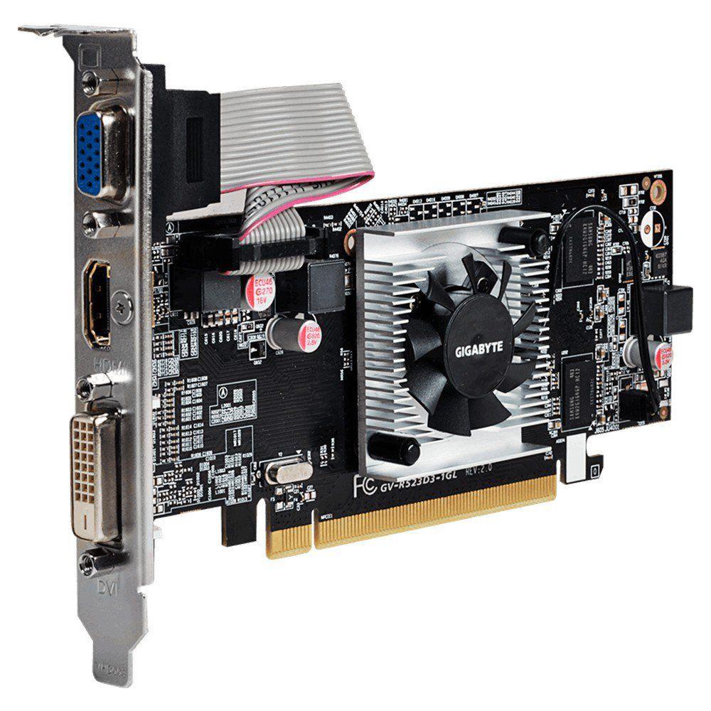 Vga Pci-E 1Gb Gigabyte Amd Radeon R5 230 Ddr3