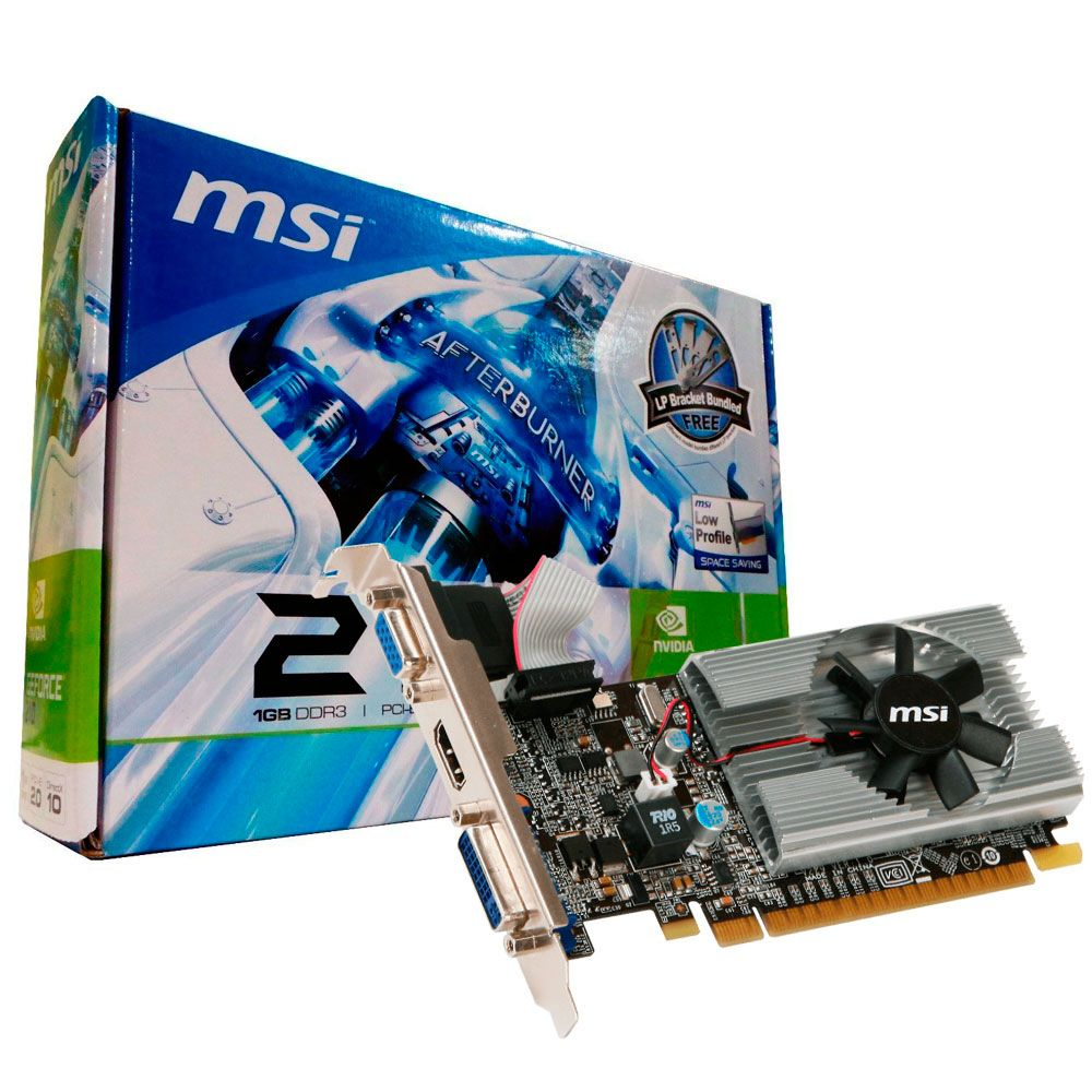 Vga Pci-E 1Gb Msi Geforce N210