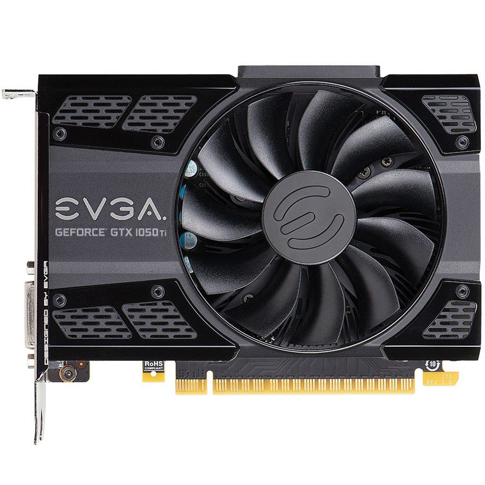 Vga Pci-E 4Gb Evga Gtx 1050Ti Gaming Acx2 128Bit Ddr5