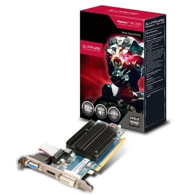 Vga Pci-E Radeon Sapphire R5 230 1Gb Ddr3 64Bits