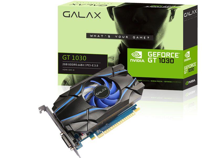 Vga Pci-E Galax Gt1030 2Gb Gddr4 64B Dvi| Hdmi| Dp