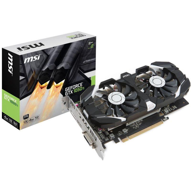 Vga Pci-E Nvidia Gtx 1050Ti 4Gb Gddr5 128B Msi Dvi/Hdmi/Dp