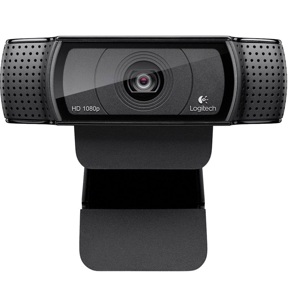 Web Cam Full Hd Pro C920 Logitech