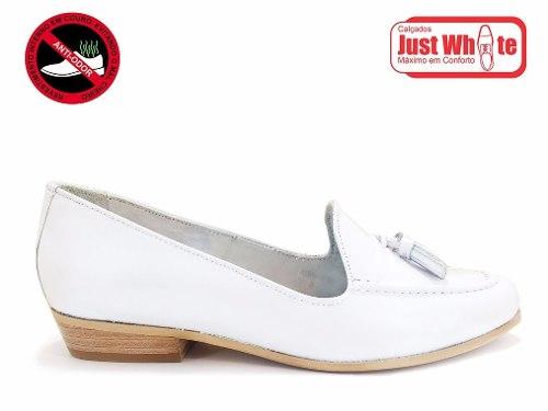 Sapato Dentistas/médicas/enfermeiras Branco Sem Odor
