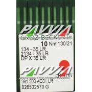 Agulha 134-35 LR 130/21 GROZ-BECKERT  Agulha longa, Caixa com 100 unidades