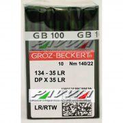 Agulha 134-35 LR 140/22 GROZ-BECKERT  Agulha longa, Caixa com 100 unidades