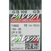 Agulha 134-35 R 180/24 GROZ-BECKERT   Agulha longa, Caixa com 100 unidades