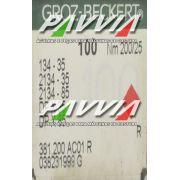 Agulha 134-35 R 200/25 GROZ-BECKERT   Agulha longa, Caixa com 100 unidades