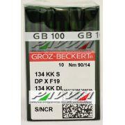 Agulha para máquina de costura couro 134 KK S .90/14 Groz-Beckert Caixa