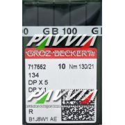 Agulha 134 R ou DPx5 R 130/21 GROZ-BECKERT  Pacote com 10 unidades