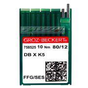 Agulha para máquina de bordar DB X K5 FFG 80/12 Groz-Beckert Caixa