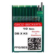 Agulha Groz-Beckert para máquina de bordar DB X K5 FFG Escolha a espessura