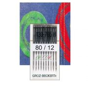 Agulha para maquina DOMESTICA Cabo Chato 130/705 .80/ 12 Pacote