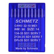 Agulha Schmetz para máquina de costura 134-35 SD 1 SERV 7 .90/14